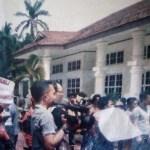 Masyarakat Gelar Aksi Unjuk Rasa di Kantor Bupati Asahan