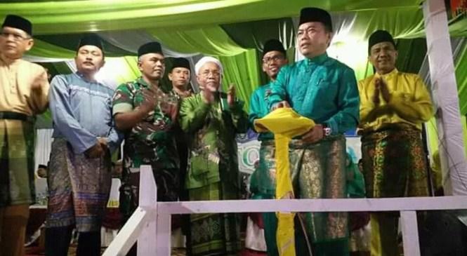Pembukaan MTQ Ke-47 Tingkat Kabupaten Merangin di Pamenang Selatan Meriah