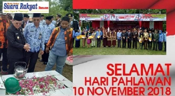 Bupati Muratara Pimpin Peringatan Hari Pahlawan