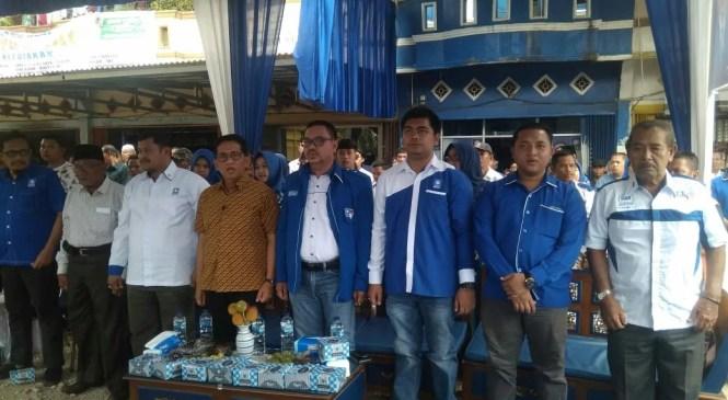 HA Bakri Silaturahmi Dengan Kader PAN dan Tomas Sarolangun