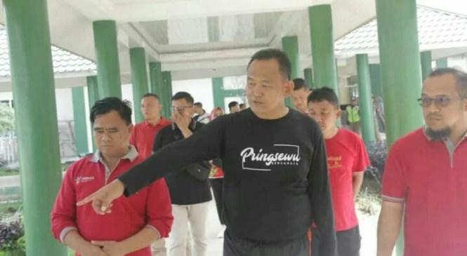 Usai Apel dan Senam Pagi, Wakil Bupati Tinjau RSUD Pringsewu