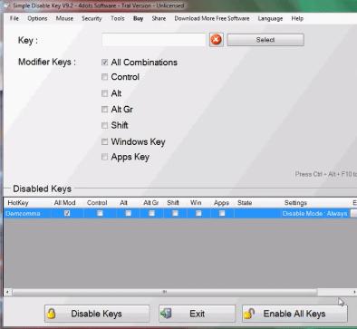 cara mengaktifkan tombol keybord laptop atau pc