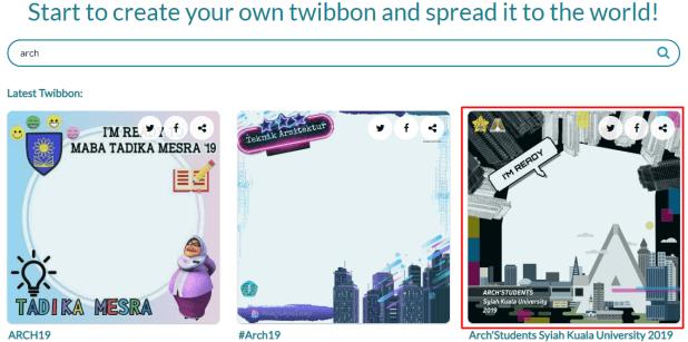 cara edit twibbon tanpa aplikasi
