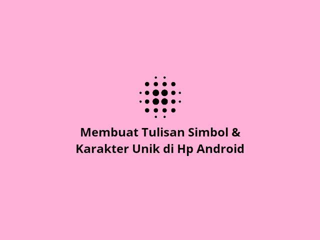 Tulisan simbol android