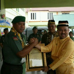 Ucapan Syahadat Sultan Banjar Tandai Penganugerahan Parang Bungkul