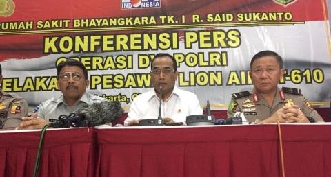 Jasa Raharja Terima 120 Data Administrasi Korban Lion Air JT-610