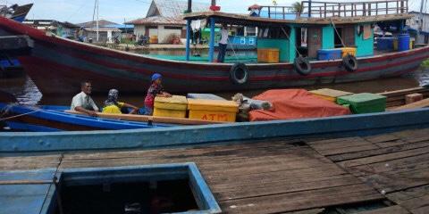 Dit Polair Tangkap Kapal Penangkap Ikan Memakai Peledak