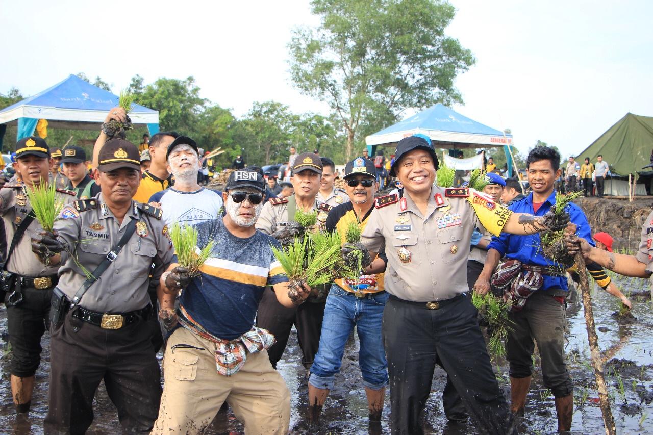 Polda Kalsel Siap Sukseskan Hari Pangan Sedunia