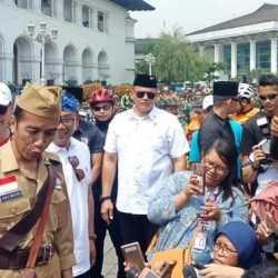 Jokowi Enggan Komentar saat Ditanya soal Politik Genderuwo
