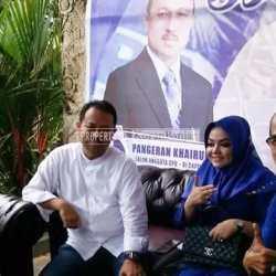 Relawan dan Kader PAN Dukung Pencalegan Pangeran Khairul Saleh