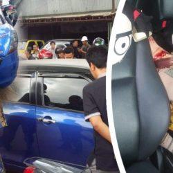 GEGER!! Wanita Tewas Digorok di Dalam Mobil