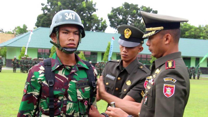 285 Siswa Tamtama TNI- AD, Pendidikan