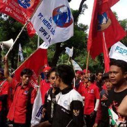 Buruh Menolak Mekanisme Penetapan Upah Minimum