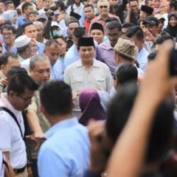 Prabowo Ziarah ke Tokoh Ulama Pasundan, Jokowi Punya Aplikasi