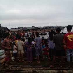 Harun Tewas Mengapung di Sungai Alalak