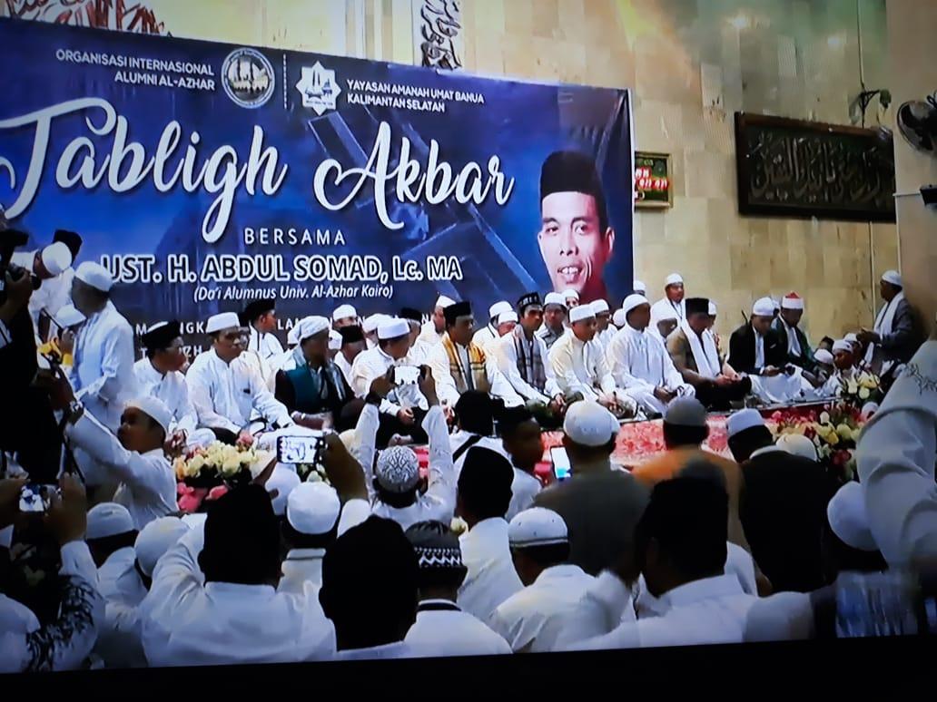 Ustadz Somad, Kalsel Harus Jadi Kebangkitan Islam