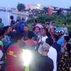Laporan Orang Tenggelam, Petugas Lakukan Penyisisiran