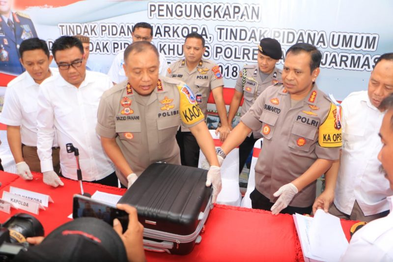 Jaringan Malaysia Upah Kurir Rp 35 Juta Selundupkan  12 Kg Sabu ke Kalsel