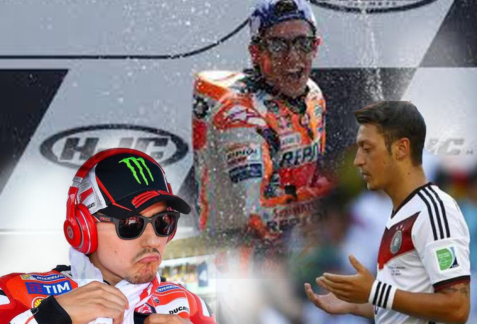 Marquez, Lorenzo dan Oezil Harapkan Indonesia Kuat Hadapi Musibah