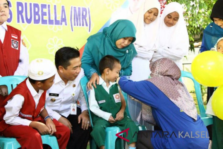 Kejar Target Imunisasi MR, Walikota Minta ASN Bawa Minimal 2 Anak