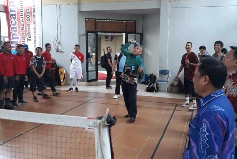 Hari Bhakti Imigrasi ke-69, Digelar Event Olahraga