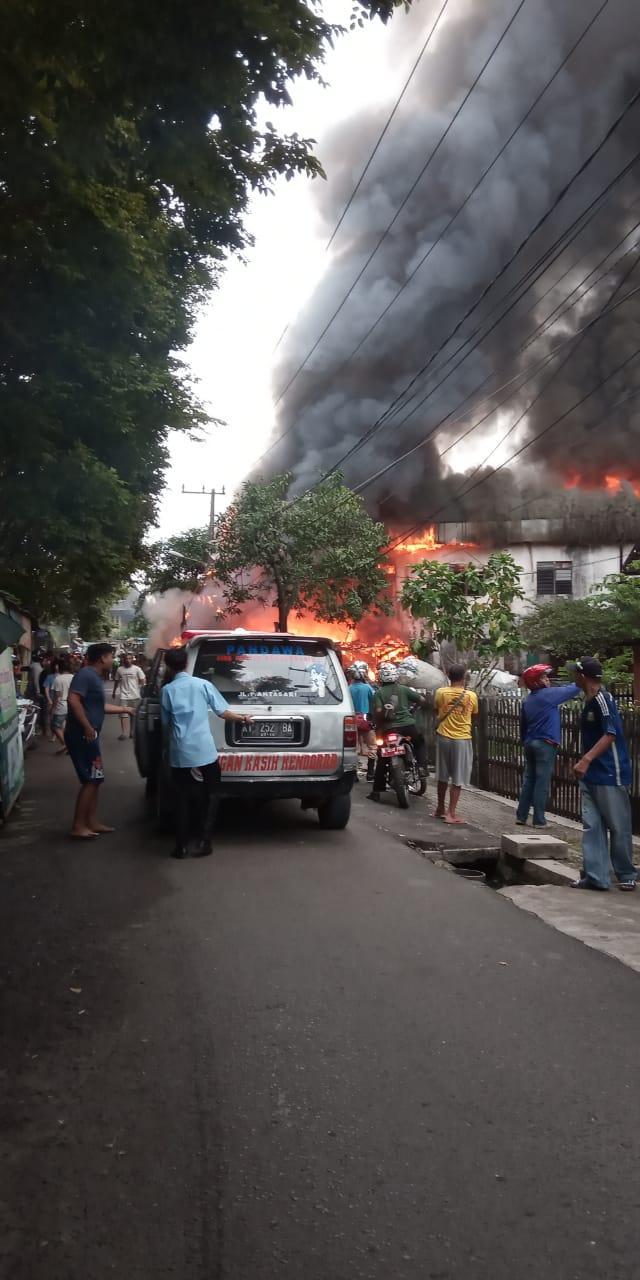 Kerugian Ditaksir Ratusan Juta, Polisi Selidiki Penyebabnya