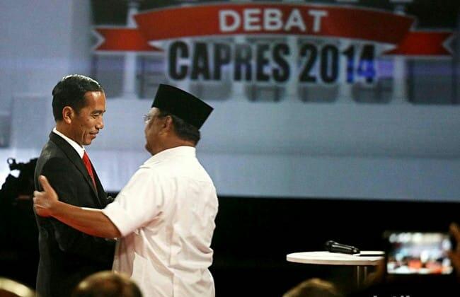 KOMPAK! Jokowi dan Prabowo Ucapkan Selamat Tahun Baru Imlek