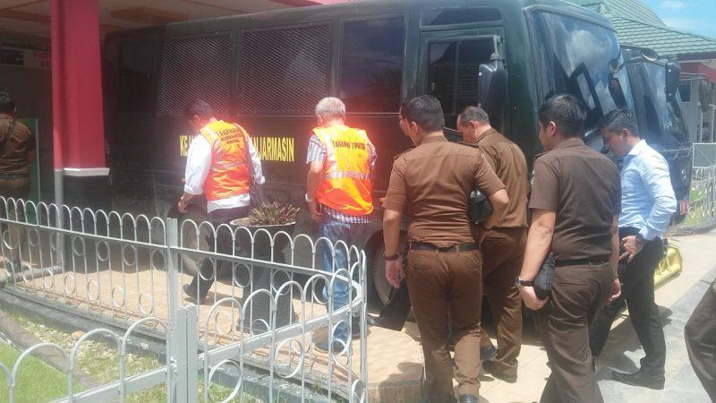 Polda Tak Tahan, Kejati yang Jebloskan Tersangka Ambruknya Jembatan Mandastana ke Lapas