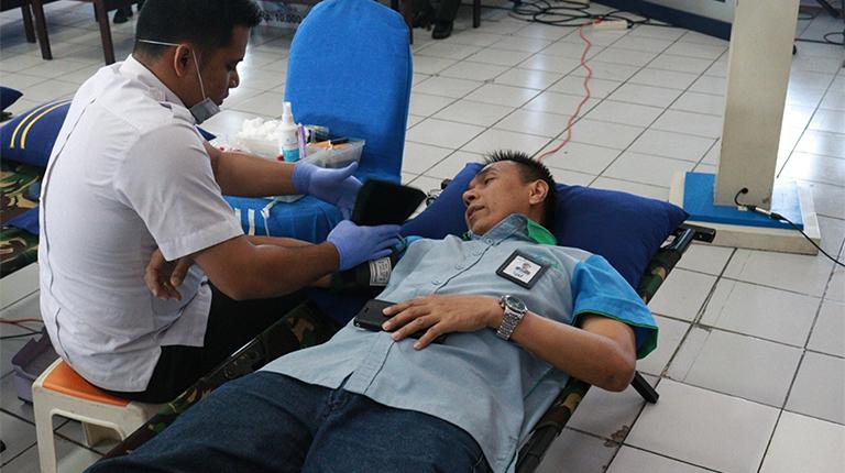 HUT Bank Kalsel ke 55 Diwarnai Donor Darah