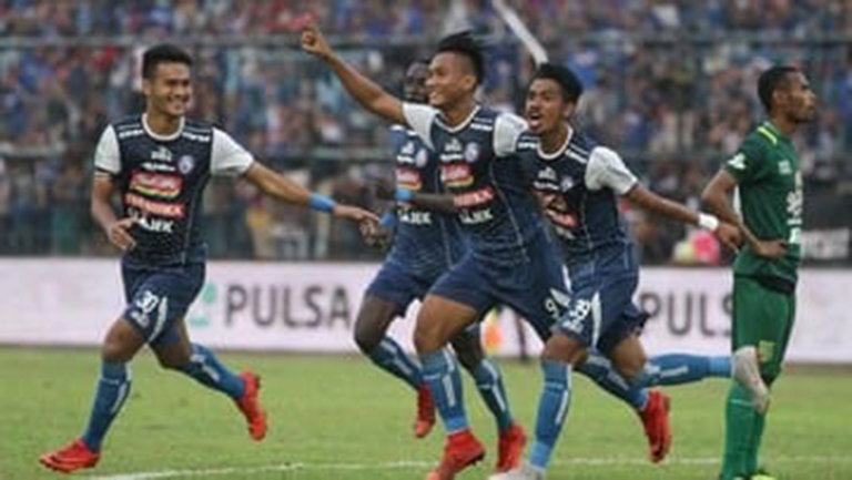Arema Juara Piala Presiden, Taklukkan Persebaya 2 – 0