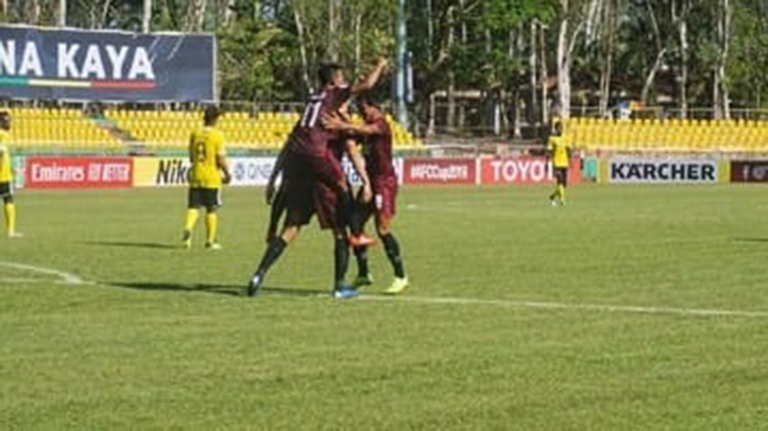 Piala AFC, PSM Lolos Semifinal, Ungguli Home United 3-2