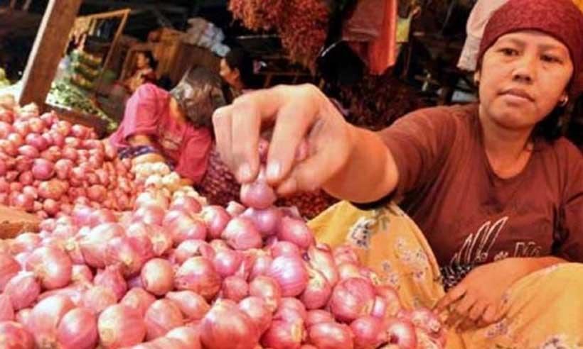 Sejumlah Pasar di Kalsel, Harga Bawang Melambung