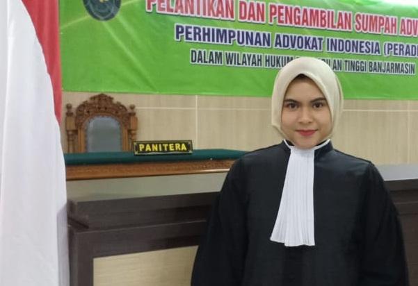 MANTAP Gadis Muda Advokat Ini Ingin Merubah Pandangan Orang, Inilah Maksudnya