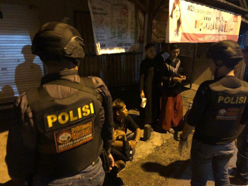 Diduga Ingin Tawuran, Belasan Remaja Digelandang ke Mapolresta Banjarmasin