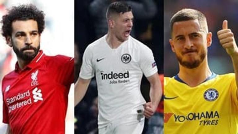 Ambisi Madrid Miliki Trio Penyerang Hazard-Jovic-Salah