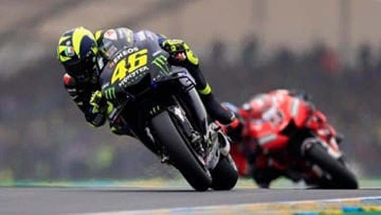 Rossi Akui Tak Mampu Imbangi Marquez