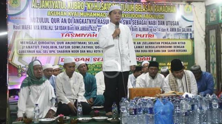 Walikota Nuzulul Quran Bersama Santri