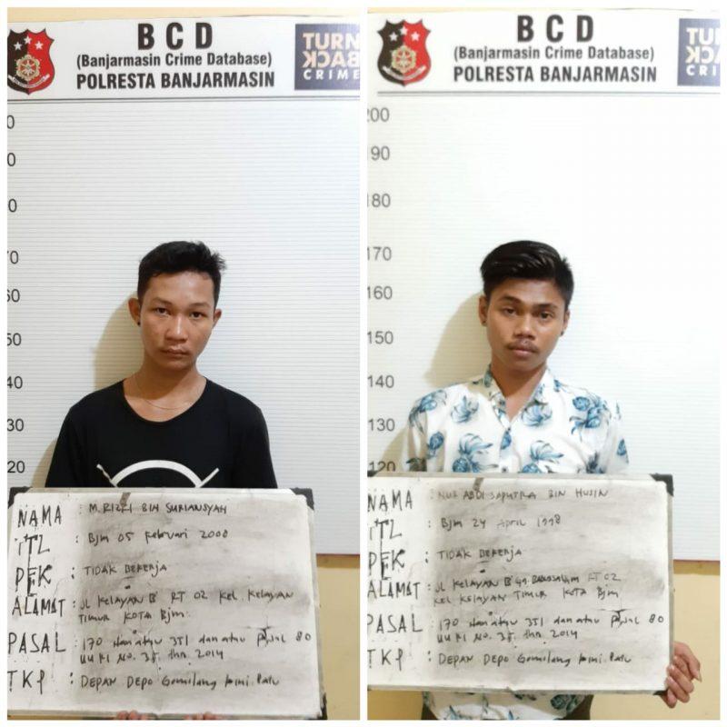 Cekcok Diakhiri Penusukan dan Dua Pelaku Diringkus