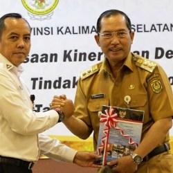 LHP SEMESTER II Diterimakan Wawali dari BPK RI Perwakilan Kalsel