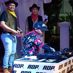 "BIKIN Seru HoHo Team dan ""Deejay"" Cilik si Dhafi, Suguhan RDP Agency"
