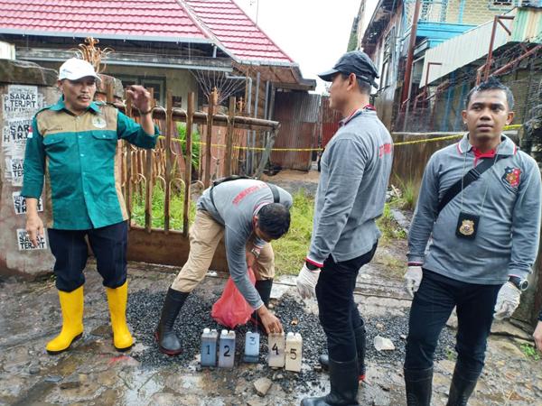 TIGA Tersangka Ditetapkan dari PT AGBP Kasus Limbah Oli Cemari Sungai Martapura