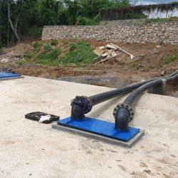 BANGUN Intake di Sengayam, Kekurangan Air Bakundi Kotabaru Teratasi