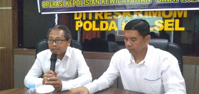 OPS Sikat Intan I Polda Kalsel dan Jajaran Ungkap 231 Kasus dan Disidik 325 Tersangka