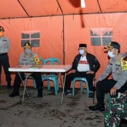 KAPOLDA Kalsel Pantau Penerapan Jam Malam di Hari Keenam PSBB