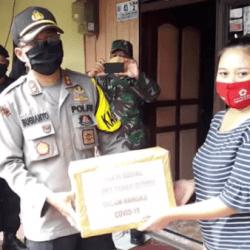 TIGA PILAR Tanbu Bergerak di 20 Titik Serahkan Sembako