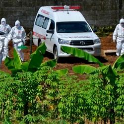 NOMOR DUA Setelah Surabaya, Banjarmasin Rasio Tertinggi Kematian COVID-19