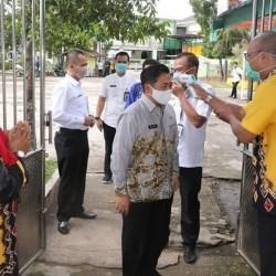 KEPALA SEKOLAH SMPN se Kota Banjarmasin Diskusikan Belajar Mengajar Selama Pandemi