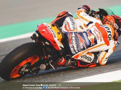TES PERTAMA MotoGP Spanyol 2020, Marc Marquez Tercepat, Rossi Ketiga, Alex Marc ke-18