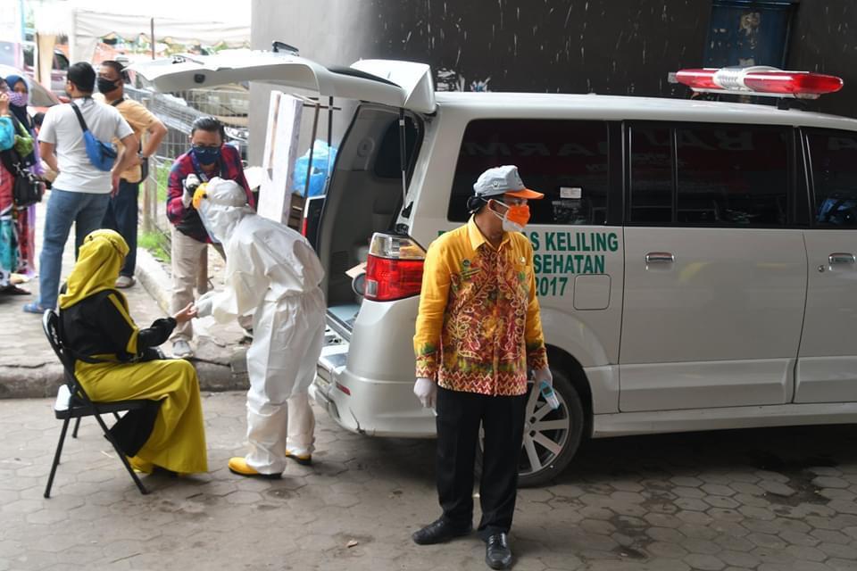 POSITIF COVID-19 di Indonesia Tembus 100 Ribu, Kasus Baru 1.525, Kalsel 33