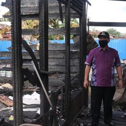 KORBAN Jago Merah di Keramat Dibantu Pemko Banjarmasin Sembako dan Alat Dapur